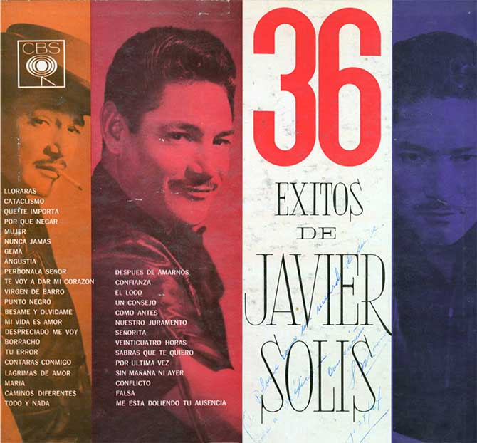 Javier Solis album cover