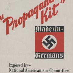 Pamphlet cover for Propaganda Kit