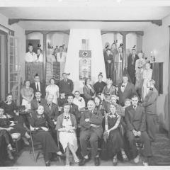 Photograph of a Nazi meeting