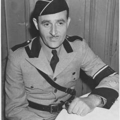 Photograph of Gau West Leader Hermann Schwinn