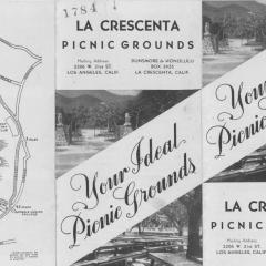 Brochure cover for La Crescenta Park