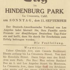 Postcard titled Deutscher Tag