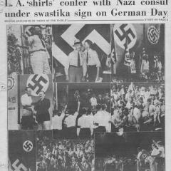 Newspaper page of News of the World
