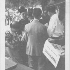 Bishop A. Dunstan Bell at a Hindenburg Park rally