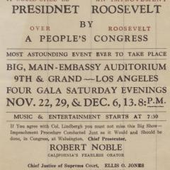 Document titled Impeachment of Roosevelt