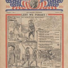Magazine cover for Government