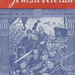 Magazine cover for Jewish Veteran