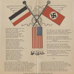 Sheet music for Anthems of Third Reich, the Nazi Party and the US