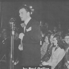 Brochure titled Citizen Sinatra
