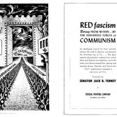 Book cover for Red Fascism