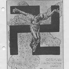 Booklet cover for Youth Against Nazism for Democracy