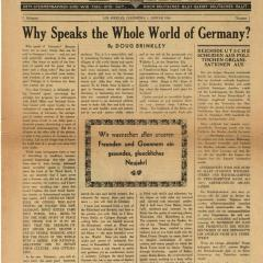 Newspaper page for California Weckruf