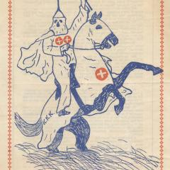 Flier for the Klan rides again