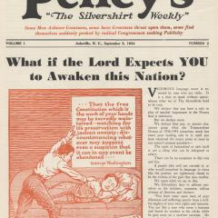 Magazine cover of Pelley's