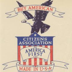 Label titled Buy American