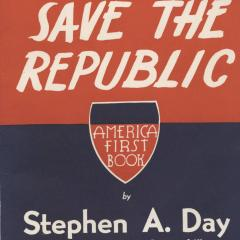 Book cover for We Must Save the Repbublic