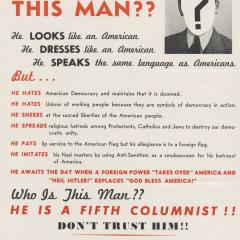 Broadside page for Who Is This Man?