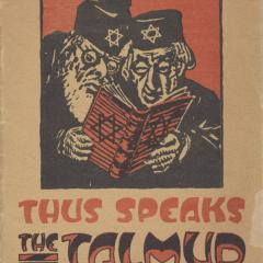 Pamphlet cover for Thus Speaks the Talmud