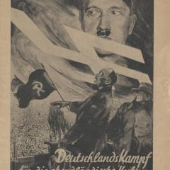 Booklet cover for Germany's Battle for Western Culture