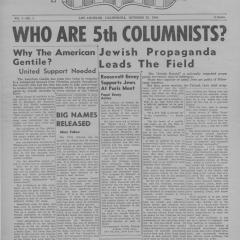 Newspaper page for American Gentile