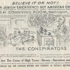 Brochure page for The Conspirators