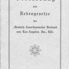 Booklet cover for German Association of LA