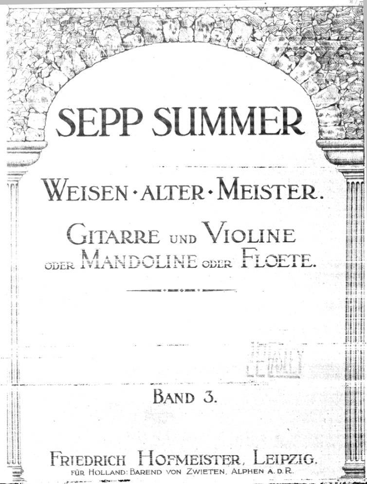 Page cover for Weisen alter meister, band 3