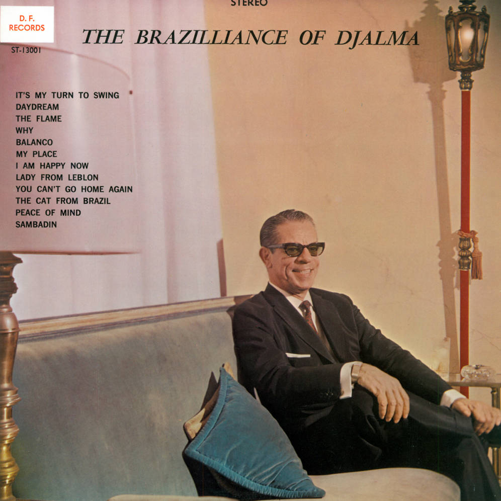 Album cover for The Brazilliance of Djalma