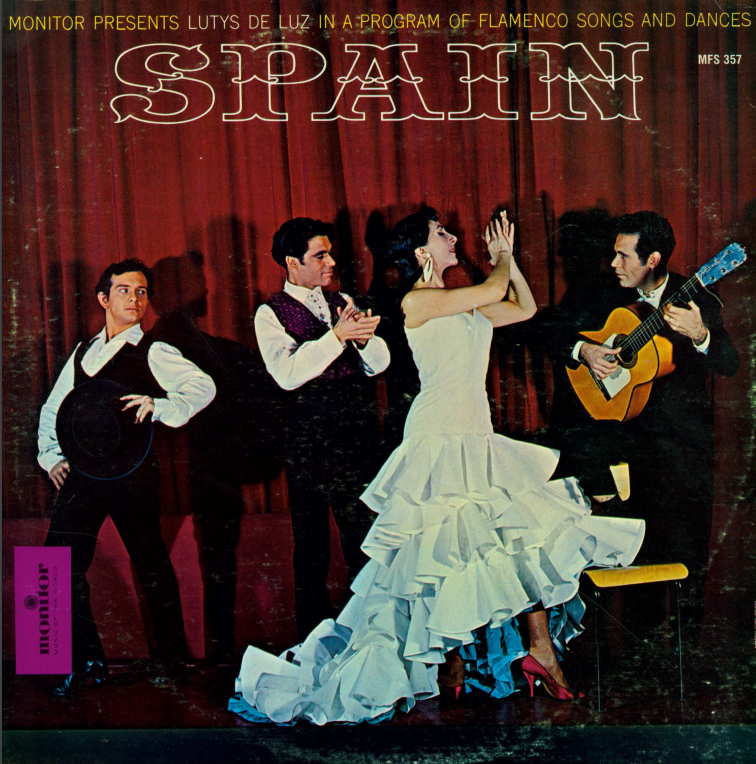Album cover for Spain