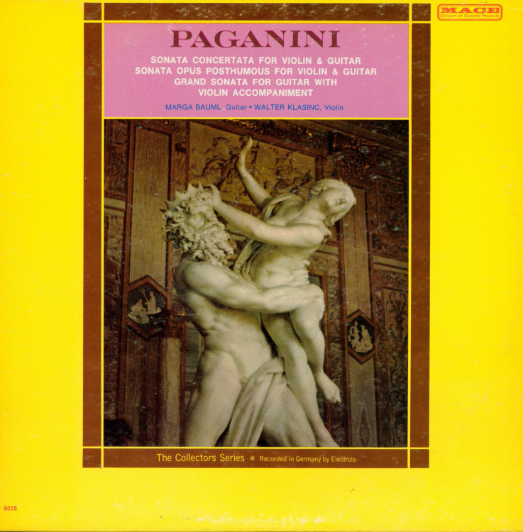 Album cover for Paganini