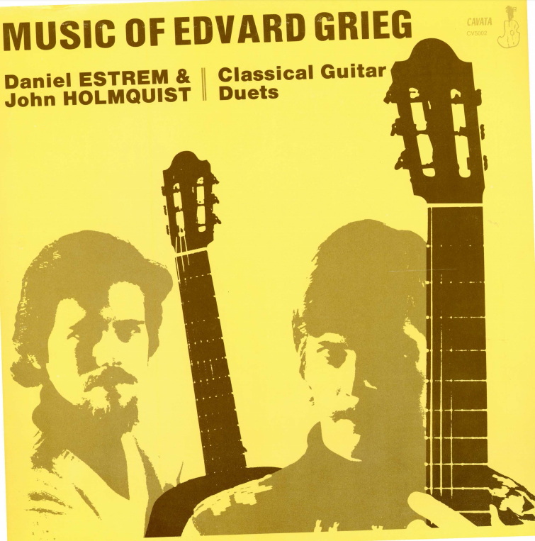 Album cover for Music of Edvard Grieg