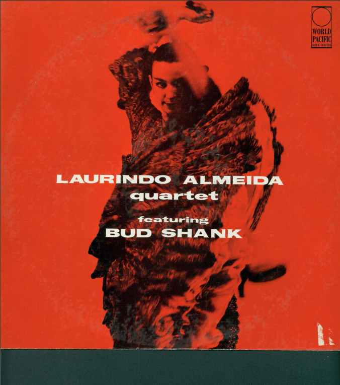 Album cover for Laurindo Almeida Quarted featuring Bud Shank