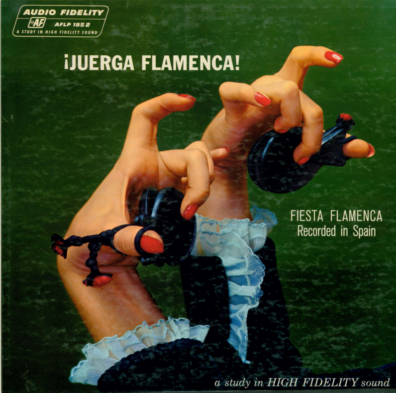 Album cover for Juerga flamenca