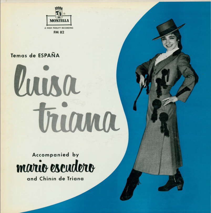 Album cover for Temas de España