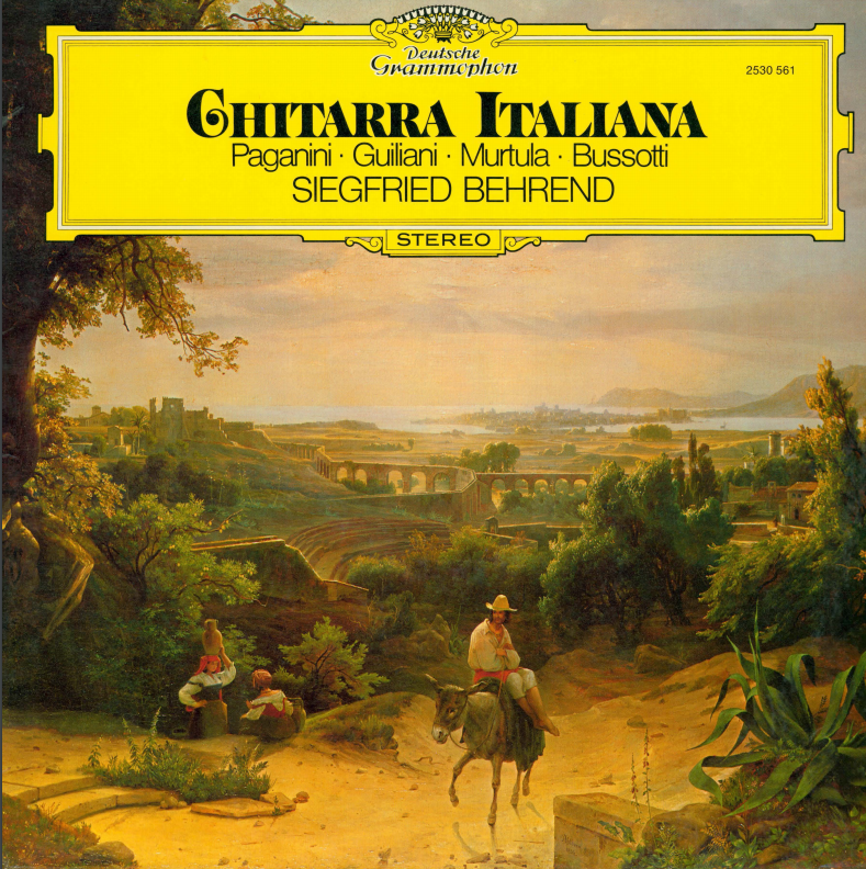 Album cover for Chitarra Italiana