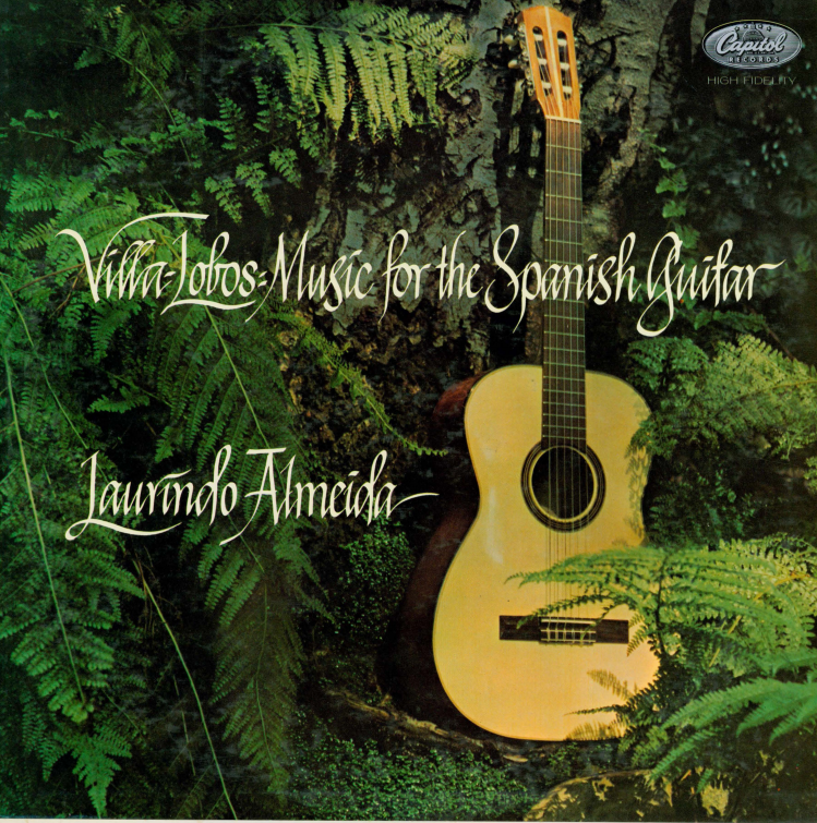 Album cover for Villa-Lobos: music for the Spanish guitar