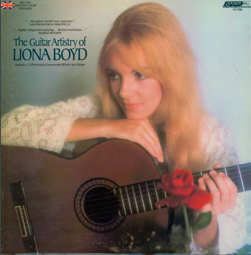 Album cover for Guitar artistry of Liona Boyd