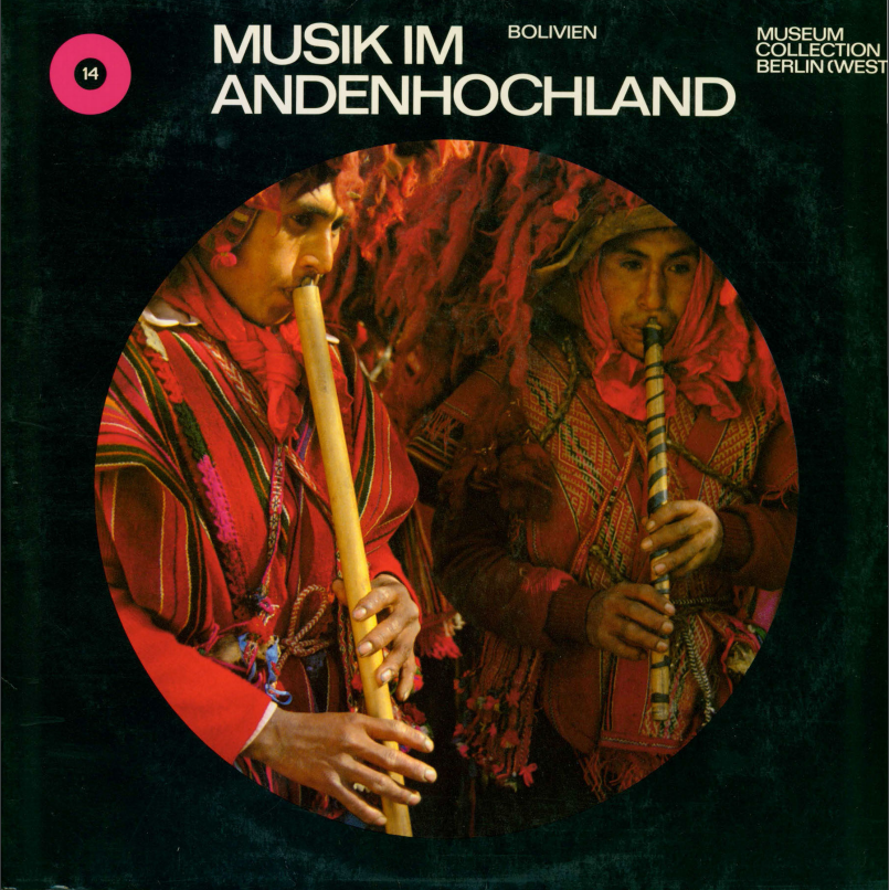 Album cover for Musik Im Andenhochland