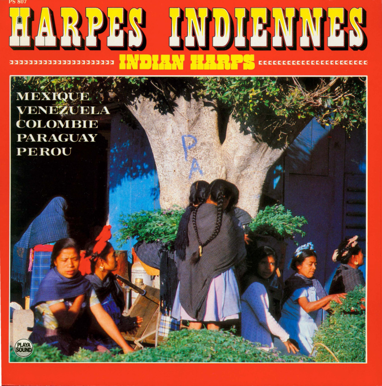 Album cover for Harpes Indiennes