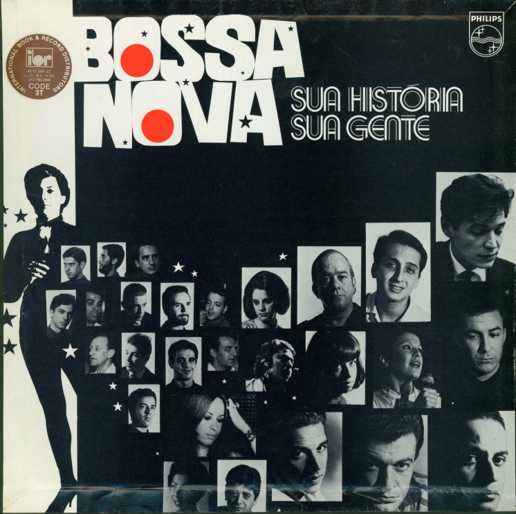 Album cover for Bossa Nova, sua historia, sua gente