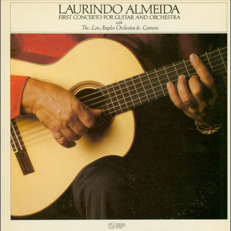 Album cover for Laurindo Almeida