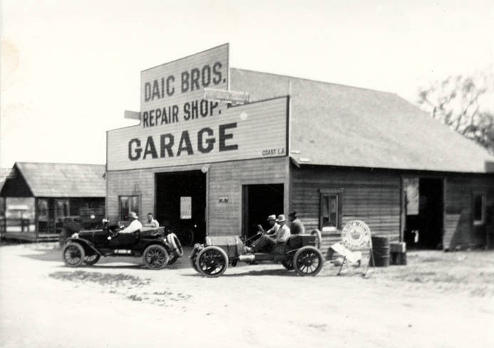 Daic Bros. Garage, Calabasas, after 1915